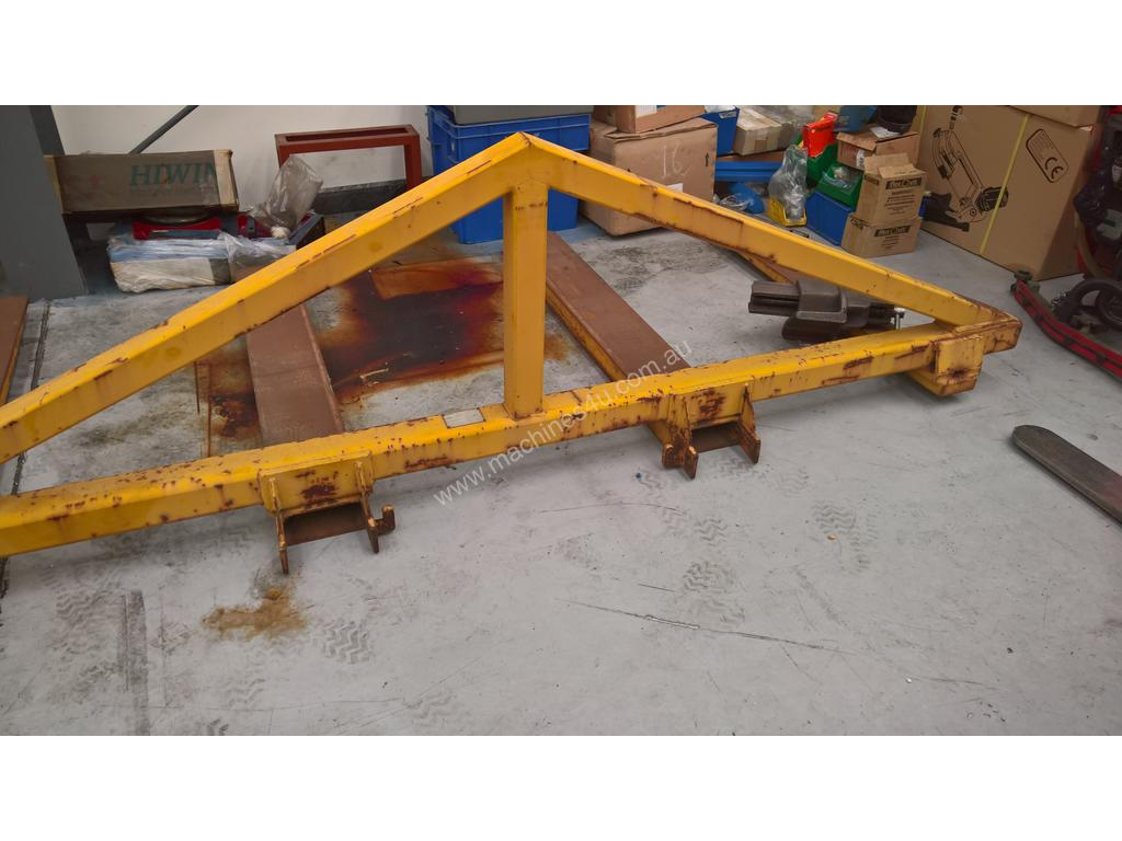 used forklift spreader